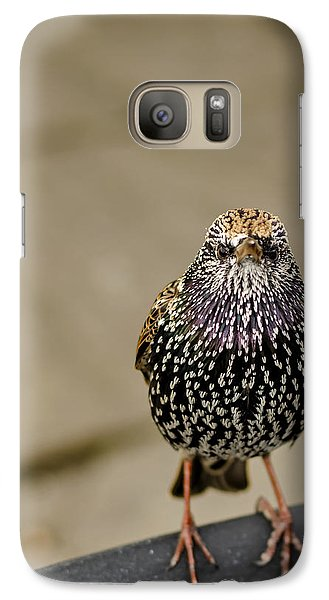Angry Bird Galaxy S7 Case by Heather Applegate