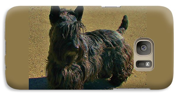 Galaxy Case featuring the photograph Angus by Michele Penner