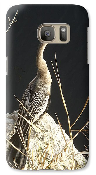 Galaxy Case featuring the photograph Anhinga by Robert Nickologianis