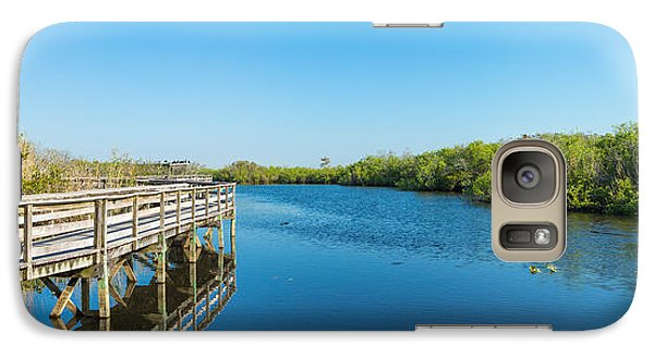 Anhinga Galaxy S7 Case - Anhinga Trail Boardwalk, Everglades by Panoramic Images