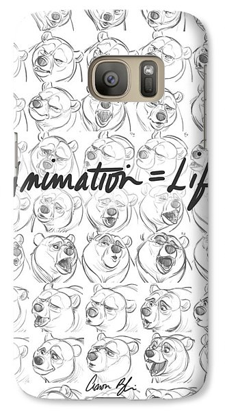 Galaxy Case featuring the digital art Animation  Life by Aaron Blaise