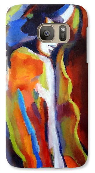 Galaxy Case featuring the painting Animus by Helena Wierzbicki