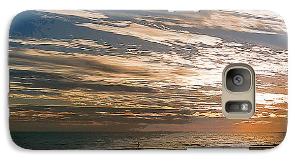 Galaxy Case featuring the photograph Anna Maria Island Sunset by Steve Sperry