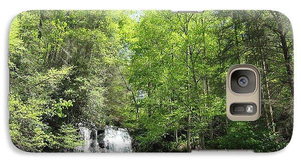 Galaxy Case featuring the photograph Anna Ruby Falls Helen Ga 02 by Brian Johnson