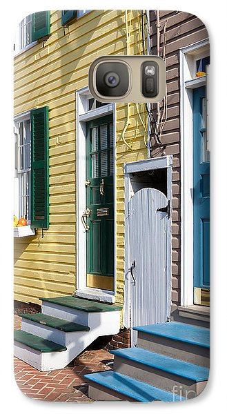 Annapolis Historic Homes I Galaxy S7 Case