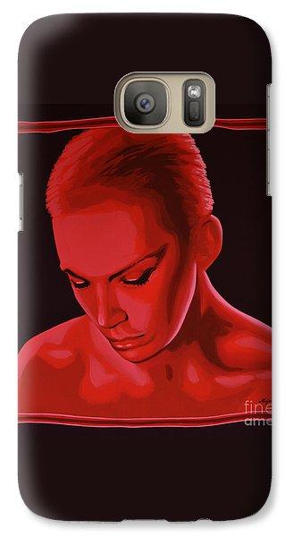 Annie Lennox Galaxy Case by Paul Meijering