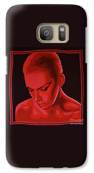 Rhythm And Blues Galaxy S7 Case - Annie Lennox by Paul Meijering