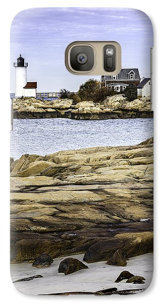 Galaxy Case featuring the photograph Annisquam Light by Betty Denise
