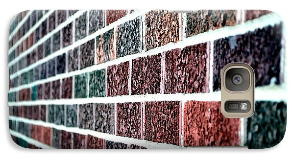 Galaxy Case featuring the photograph Another Brick In The Wall by Deena Stoddard