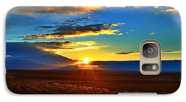 Galaxy Case featuring the photograph Good Morning On The Horse Heaven by Lynn Hopwood