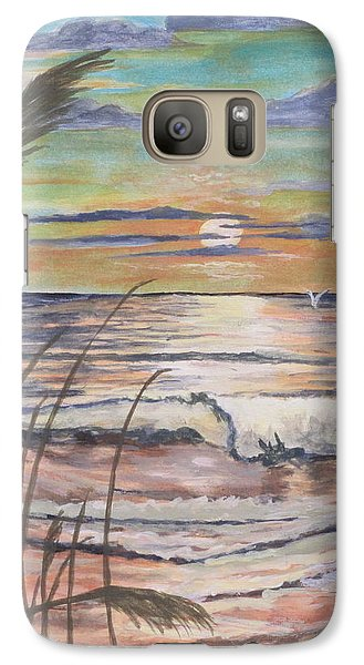 Galaxy Case featuring the painting Another Hot One by Hilda and Jose Garrancho