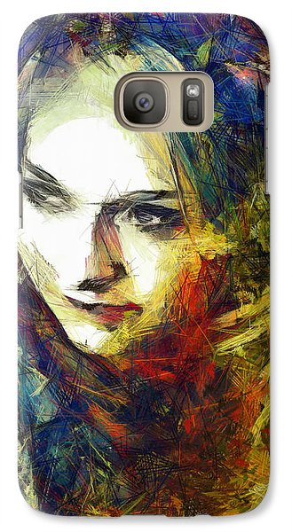 Galaxy Case featuring the drawing Another Lonely Day by Joe Misrasi