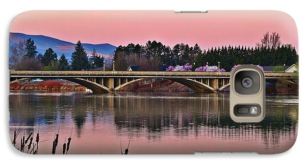 Galaxy Case featuring the photograph Another Pink Morning 2 by Lynn Hopwood