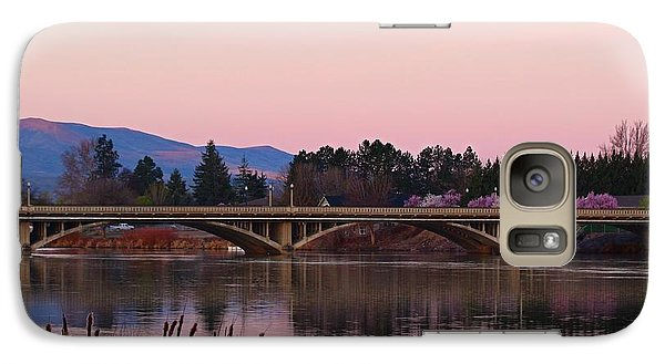 Galaxy Case featuring the photograph Another Pink Morning by Lynn Hopwood