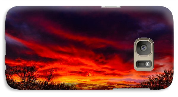 Galaxy S7 Case featuring the photograph Another Tucson Sunset by Mark Myhaver