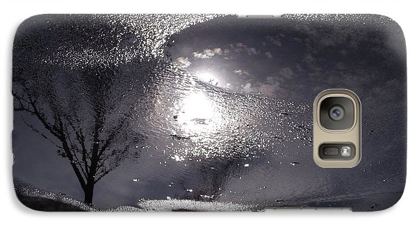 Galaxy Case featuring the photograph Another World by Lyric Lucas
