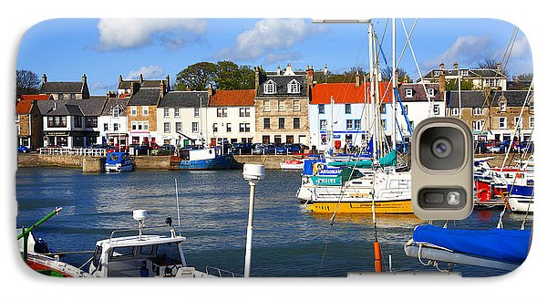 Galaxy Case featuring the photograph Anstruther Harbour by Craig B