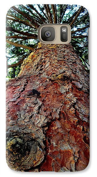 Galaxy Case featuring the photograph Ant View by Mary Beth Landis