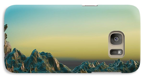 Galaxy Case featuring the digital art Ante Somnum - Surrealism by Sipo Liimatainen