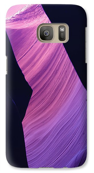 Galaxy Case featuring the photograph Antelope Canyon 10 by Jeff Brunton