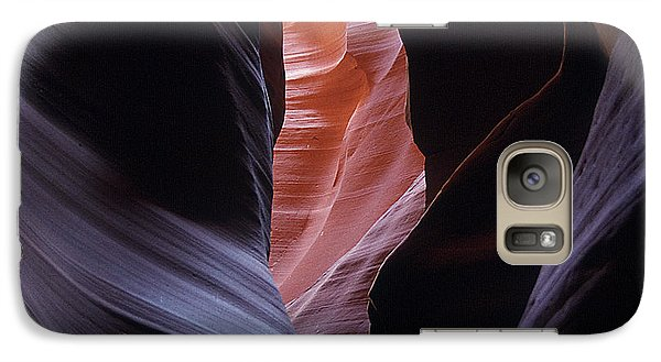 Galaxy Case featuring the photograph Antelope Canyon 5 by Jeff Brunton