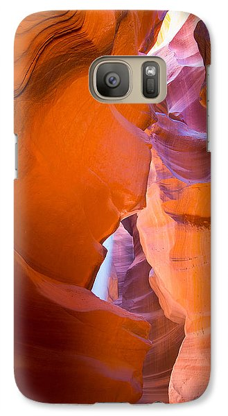 Galaxy Case featuring the photograph Antelope Canyon No. 10 by Jim Snyder