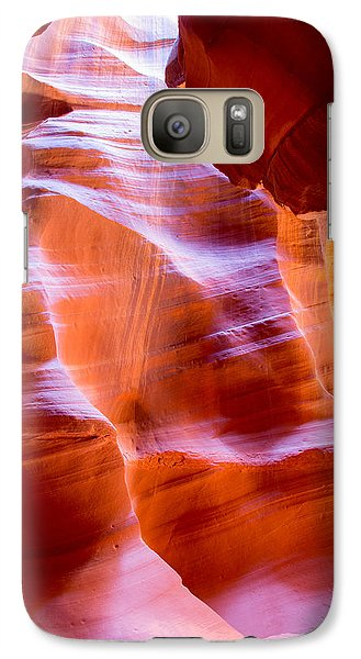 Galaxy Case featuring the photograph Antelope Canyon No. 12 by Jim Snyder