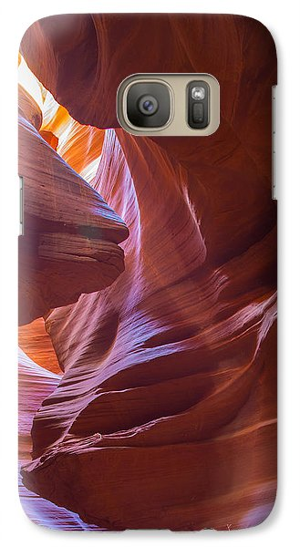 Galaxy Case featuring the photograph Antelope Canyon No. 13 by Jim Snyder