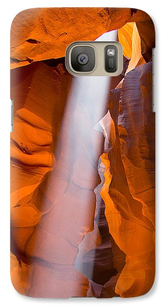 Galaxy Case featuring the photograph Antelope Canyon No. 2 by Jim Snyder