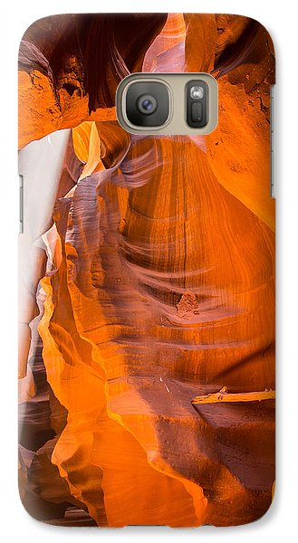 Galaxy Case featuring the photograph Antelope Canyon No. 3 by Jim Snyder