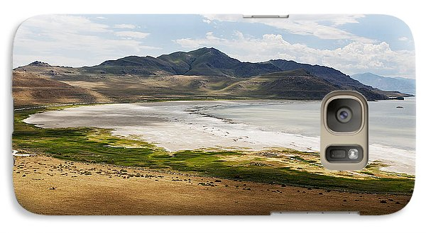 Galaxy Case featuring the photograph Antelope Island by Belinda Greb