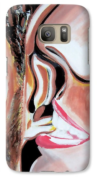 Galaxy Case featuring the painting Anticipation by J Anthony