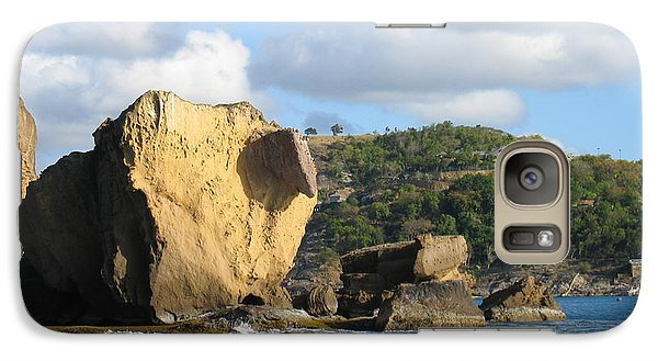 Galaxy Case featuring the photograph Antigua - Aliens by HEVi FineArt