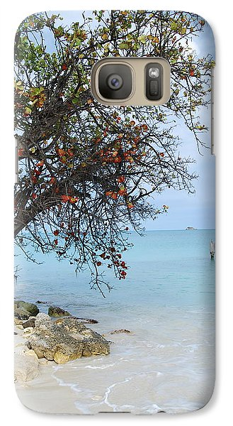 Galaxy Case featuring the photograph Antigua by Kathy Gibbons