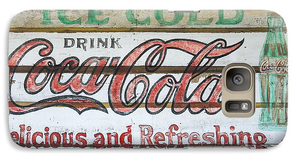 Antique Coca Cola Sign  Galaxy S7 Case