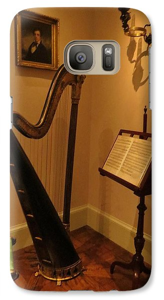 Galaxy Case featuring the photograph Antique Music Room by Jeanette Oberholtzer