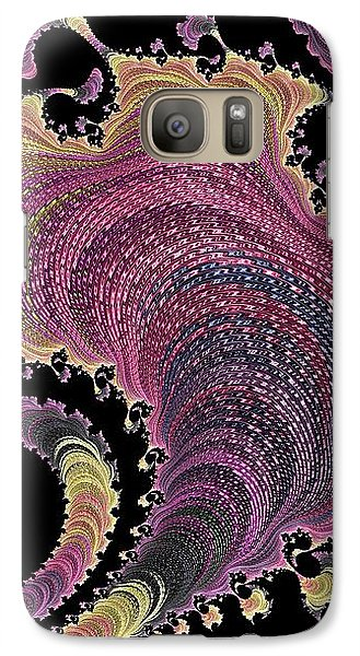 Galaxy Case featuring the digital art Antique Tapestry by Susan Maxwell Schmidt