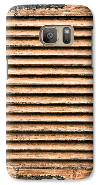 Antique Wooden Shutter Galaxy Case by Tom Gowanlock