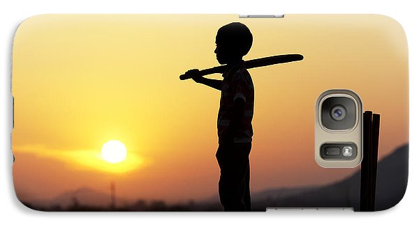 Any One For Cricket Galaxy Case by Tim Gainey