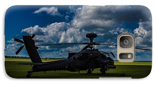 Apache Gun Ship Galaxy S7 Case by Martin Newman
