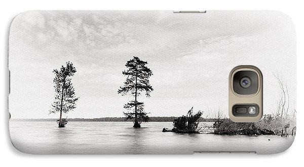 Galaxy Case featuring the photograph Apart by Alan Raasch