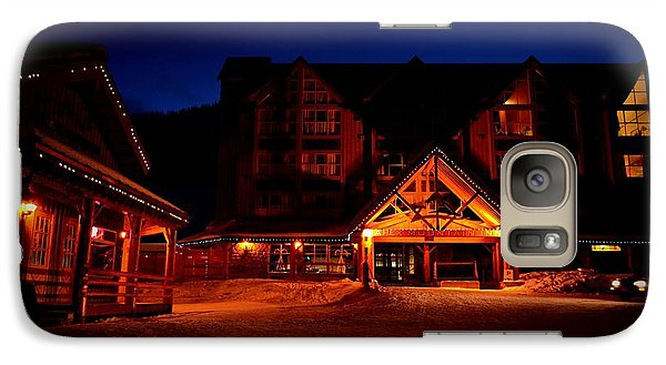 Galaxy Case featuring the photograph Apex Mountain Ski Village by Guy Hoffman