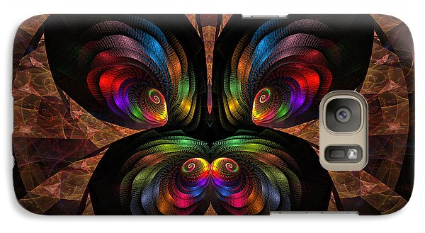 Galaxy Case featuring the digital art Apo Butterfly by GJ Blackman