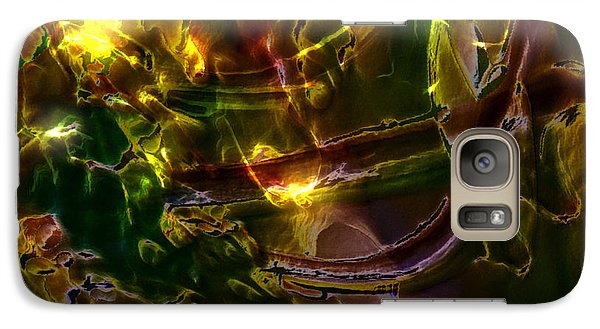 Galaxy Case featuring the digital art Apocryphal - Tilting From Beastback by Richard Thomas