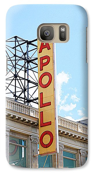 Apollo Theater Sign Galaxy S7 Case