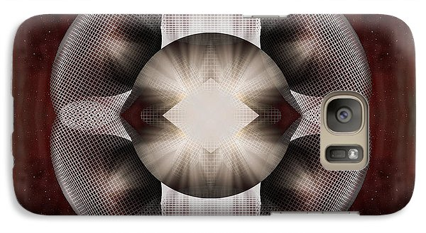 Galaxy Case featuring the digital art Apophysis814 by Mario Carini