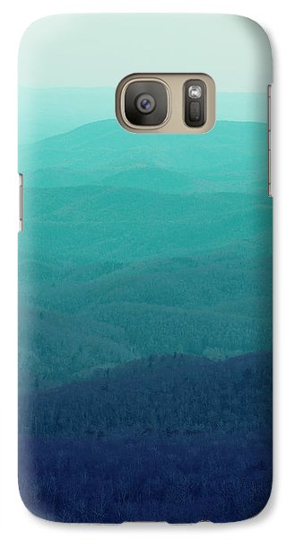 Mountain Galaxy S7 Case - Appalachian Mountains by Kim Fearheiley