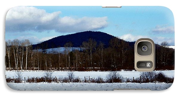Galaxy Case featuring the photograph Appalachian Snowscape by Christian Mattison