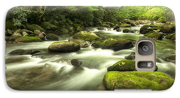 Galaxy Case featuring the photograph Appalachian Spring Stream by Phyllis Peterson