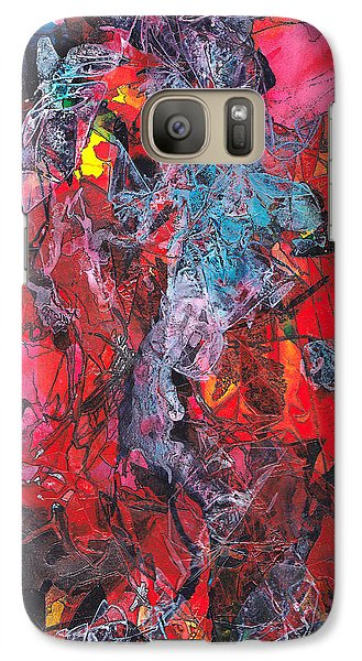 Galaxy Case featuring the painting Apparition by Buck Buchheister
